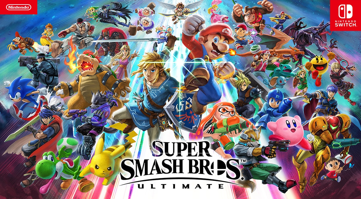 Fighters Super Smash Bros Ultimate For The Nintendo Switch System