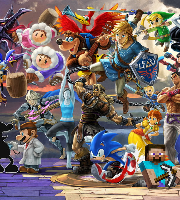 super smash bros ultimate for the nintendo switch system official