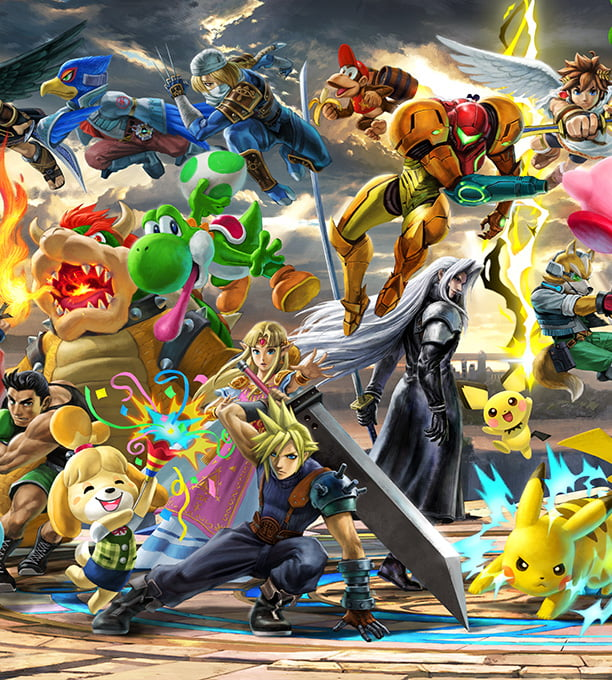 Super Smash Bros  Ultimate – Official Site | Nintendo Switch