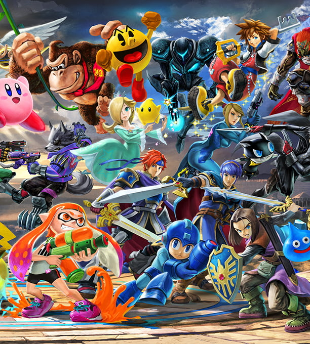 Super Smash Bros  Ultimate for the Nintendo Switch system | Official