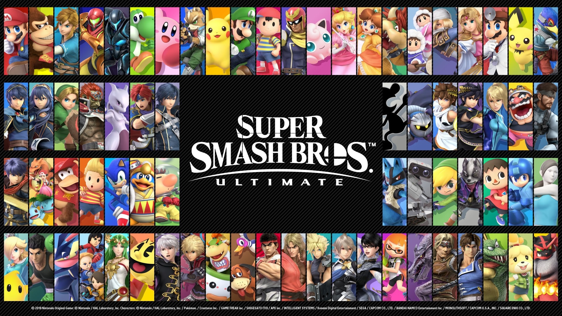 Bildresultat för smash bros ultimate