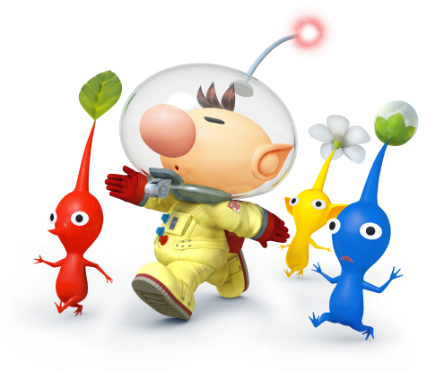 Confermato Olimar + Pikmin in Super Smash Bros!