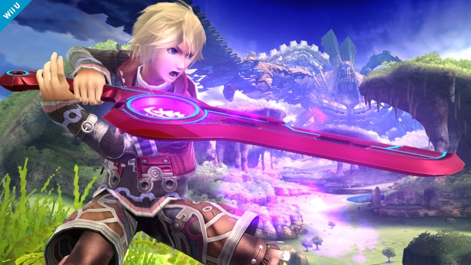 Smash Bros: Shulk Joins the Fight!