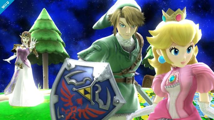 Link deja a Zelda y la cambia por Peach (foto) Screen-9