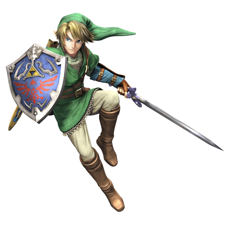 Link Super Smash Bros Wii U