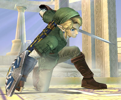 Link Vs Mario Brawl Smash Bros. DOJO!!