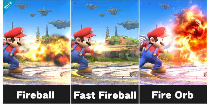 Each Fighter Possesses Four Special Moves Standard Side Up And Down Of These Can Be Customised However
