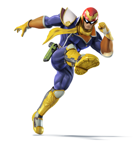 Super Smash Bros. For Nintendo 3DS / Wii U: Captain Falcon