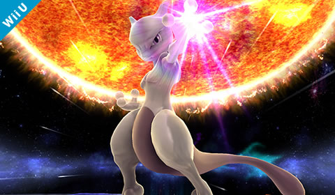 Super Smash Bros For Nintendo 3ds And Wii U Mewtwo
