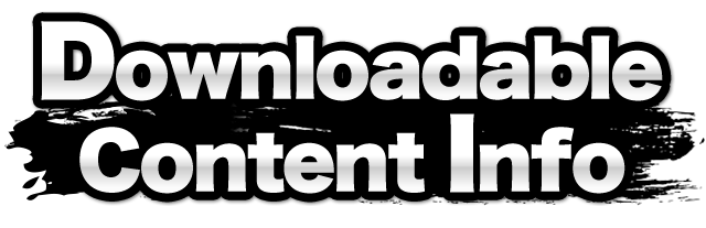 Super Smash Bros  for Nintendo 3DS / Wii U: Downloadable