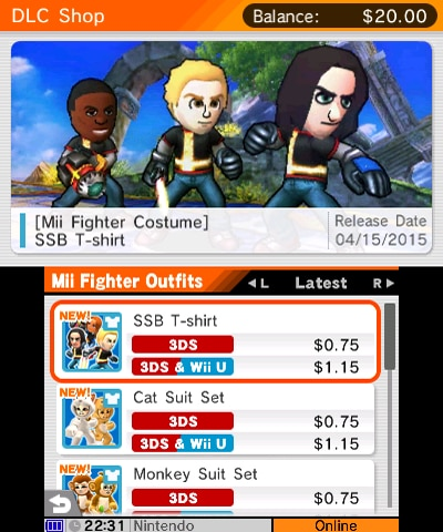 Super Smash Bros For Nintendo 3ds Wii U Downloadable Content Info